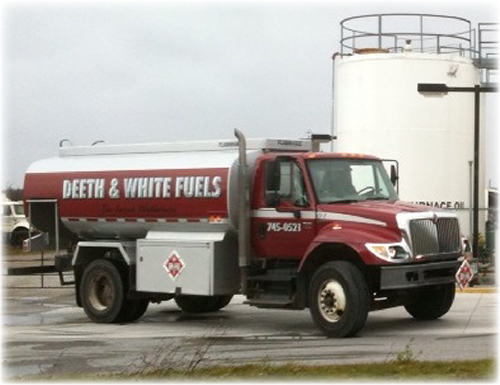 Deeth and White Fuels Truck 2014